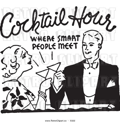 retro cocktail clipart cocktail bar clipart