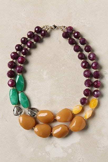 How To Make Handmade Necklaces - best 25 chunky necklaces ideas on