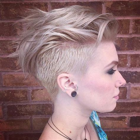 spikey shaved stunning undercut hairstyles for your bold look