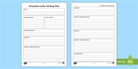 persuasive letter writing template teacher