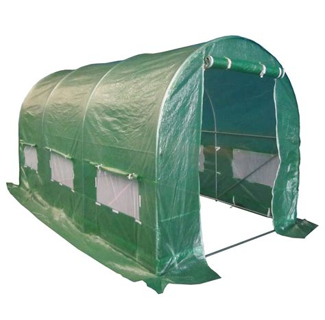 pavillon 2m x 3m foxhunter polytunnel greenhouse pollytunnel cover only 3m