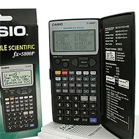 Fx 5800p casio fx 5800p calculadora cientifica programable