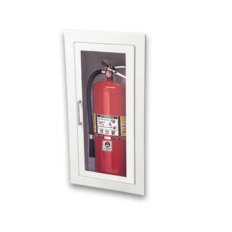 recessed fire extinguisher cabinet jl ambassador 8115f10 recessed 5 lbs fire extinguisher