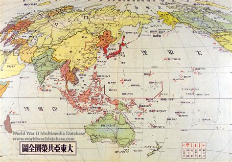 pacific war map japanese pacific war map the world war ii multimedia