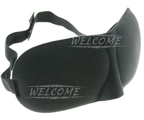 3d Travel Eye Mask 3d eye mask sponge cover blindfold travel sleep rest shade