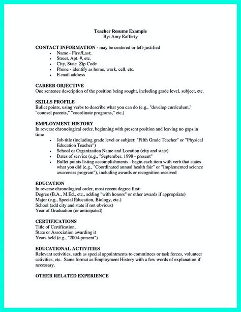 simple college golf resume with basic but effective information