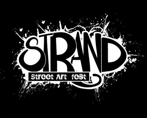 street logos street graphics logo strand street art fest logorium com
