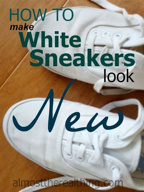 how to make your white canvas shoes look new again fashion