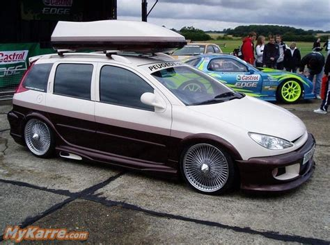 peugeot 405 modified peugeot 206 sw tuning cars modified