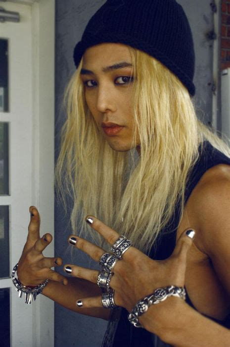 boys who wear long hair and nails big bang s g dragon s wildest hairstyles hot off the