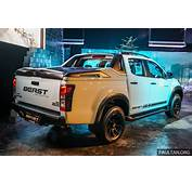 Isuzu D Max Beast Limited Edition Launched – 25L And 30L