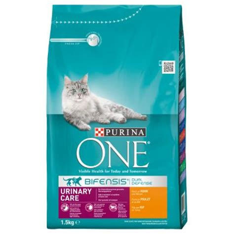 urinary food purina one urinary care chicken wheat cat food great deals at zooplus