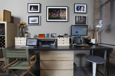reworking the home office with a dash of ikea lifehacker