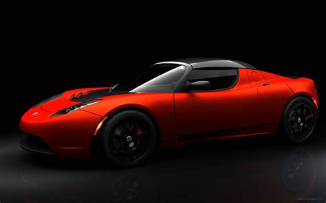 tesla roadster sport tesla roadster sport wallpaper hd car wallpapers