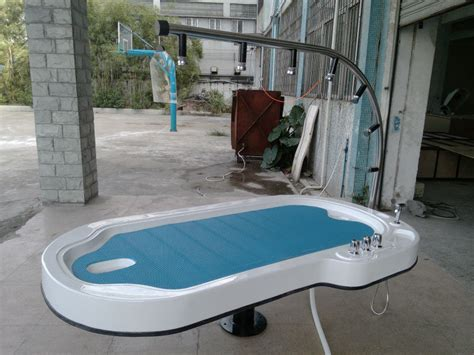 shower bed portable water bed spa table shower spa wet table for