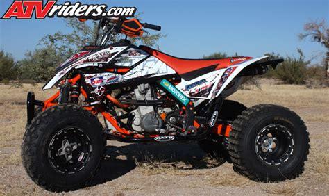 Ktm Atv 450 Of The Month November 2012 Conrad Funke S Ktm 450