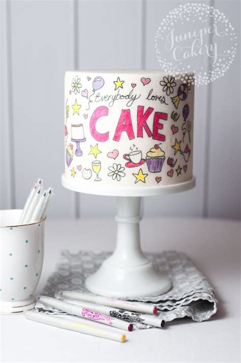 cake doodle ideas the 17 best ideas about easy doodle on