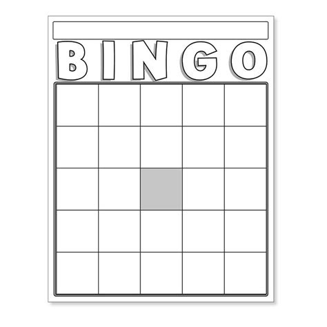 s day bingo card template blank bingo cards white 87130