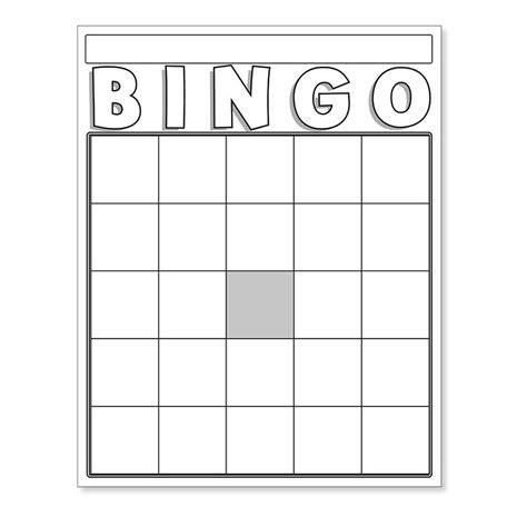 free bingo card template for teachers blank bingo cards white 87130