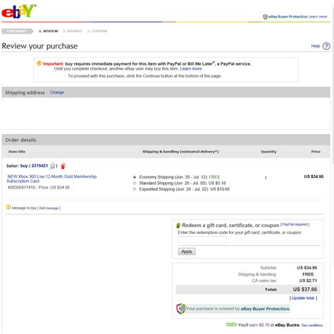 sle invoice ebay why am i being charged sales tax on a xbox live