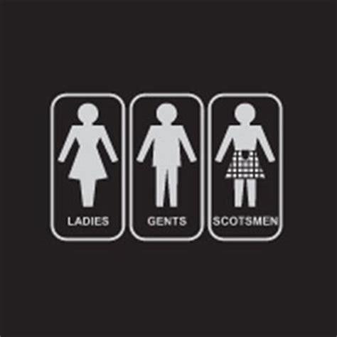 scottish bathroom signs scottish restroom sign restroom sign pinterest