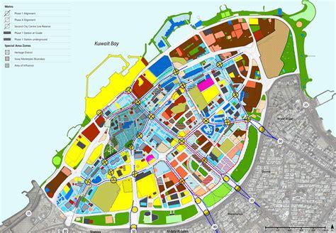 Office Design Planning Area kuwait city urban development 2030 gulf consult