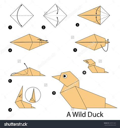 How To Fold A Paper Duck - 80 best images about fiar the story of ping on