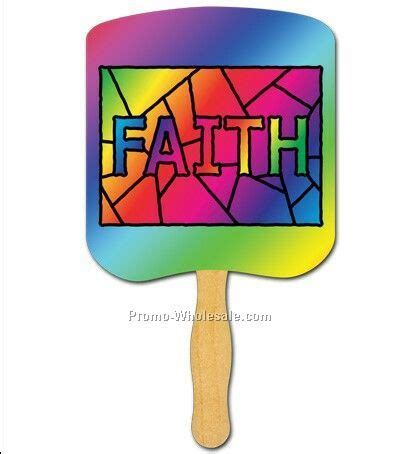 church fans in bulk religious fans faith stained glass wholesale china