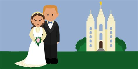 lds clipart image gallery lds marriage clip