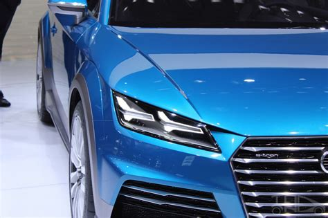 audi allroad shooting brake concept   naias headlight