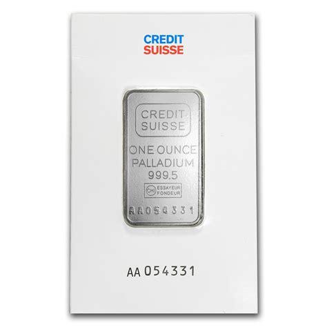 credit suisse one bank 1 oz credit suisse palladium bar buy palladium for