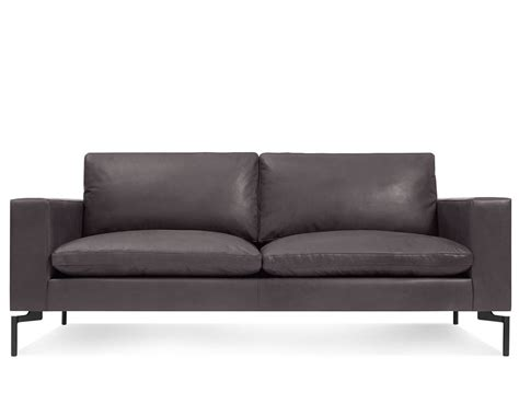 New Leather Sofa New Standard 78 Quot Leather Sofa Hivemodern