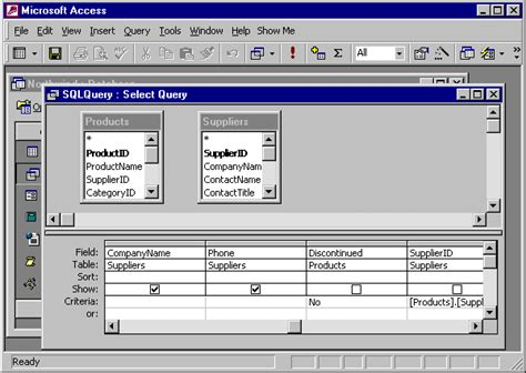 query layout view a quick access 2000 tutorial sql queries
