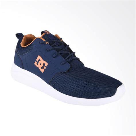Sepatu Dc Untuk Pria jual dc midway sn m shoe sepatu sneakers pria navy adys700096 na4 harga kualitas
