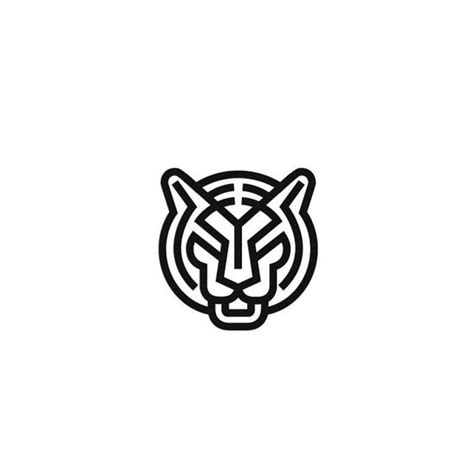 tiger pattern logo tiger knuckle tattoo logo design pinterest knuckle