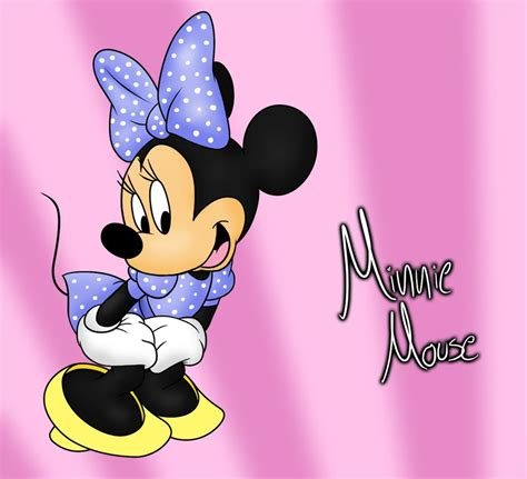 Minnie Mouse by Minnie Mouse Wallpapers Hd Wallpapers Pics