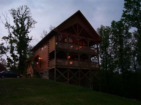 Evening View Cabin by Photos Of Vacation Rental Cabin In Pigeon Forge Tn In Great Smokey Mountains With Mountain