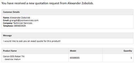 email quotation to customer quotes eshop documentation