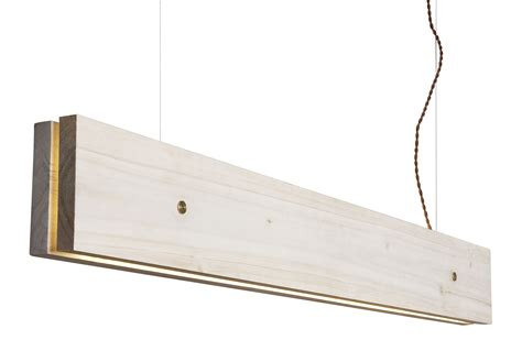 plank led pendant wall floor l l 120 cm light poplar by northern lighting