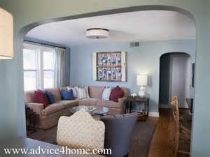 blue walls brown furniture blue living room with brown sectional brown sofa design