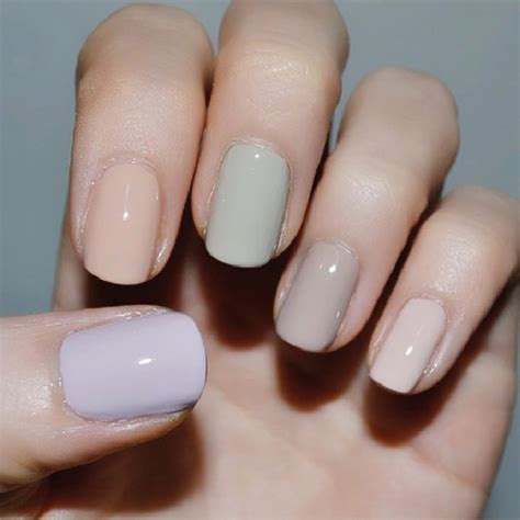 neutral nail colors 5 nail colors that look for a week