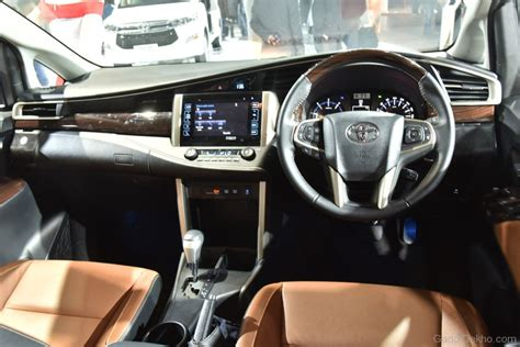 toyota innova crysta interior view car pictures images