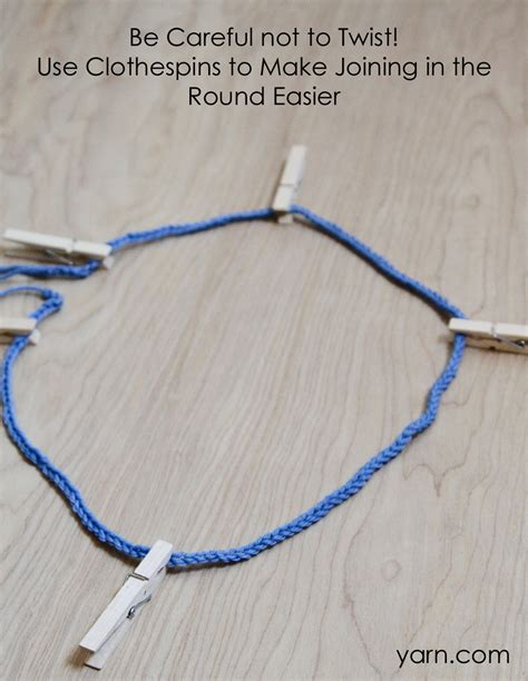 how to join knitting in the on circular needles announcements not your average crochet