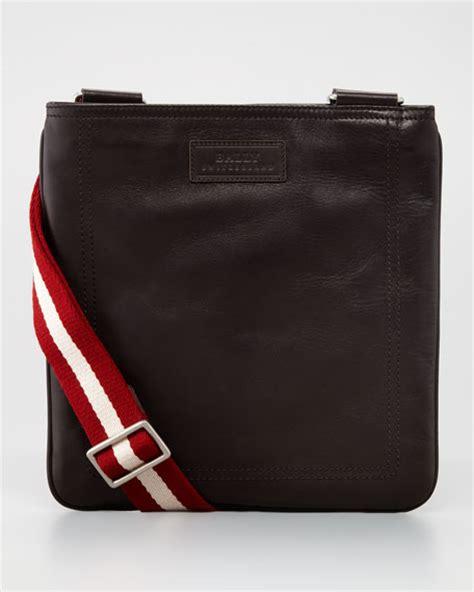Bally Pocket Stripe Crossbody Bag Ori bally taisten web crossbody bag brown