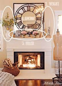 how to decorate a mantel tidbits twine