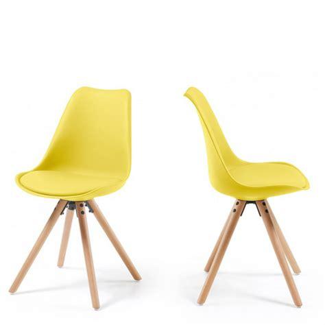 chaise de designer chaises design ralf wood style eames par drawer