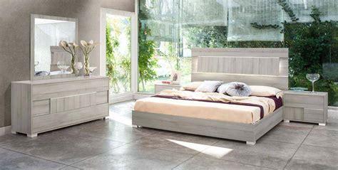 italy quality elite modern bedroom set  headboard light el paso texas vig ethan