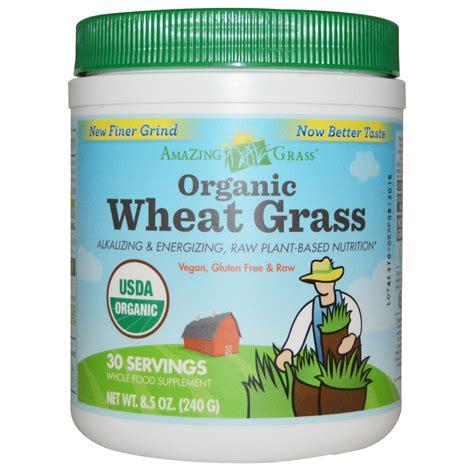 3 Day Detox Wheat Grass Green Superfood by Amazing Grass Organic Wheat Grass 8 5 Oz 240 G Iherb