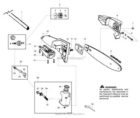 poulan pro chainsaw parts diagram poulan pp446t gas pole pruner 446t poulan pro gas pole