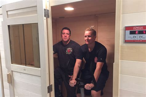 Sauna Detox For Firefighters indianapolis department aims to limit cancer risks